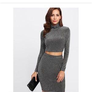 Dresses & Skirts - Shimmer Skirt Set